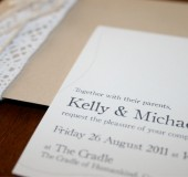Kelly + Michael Wedding Invites