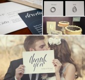 Kelly + Michael Wedding Stationery