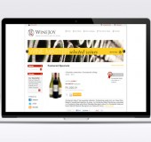Winejoy Website